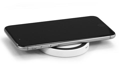 chargeur par induction personnalisable. Black Bedroom Furniture Sets. Home Design Ideas