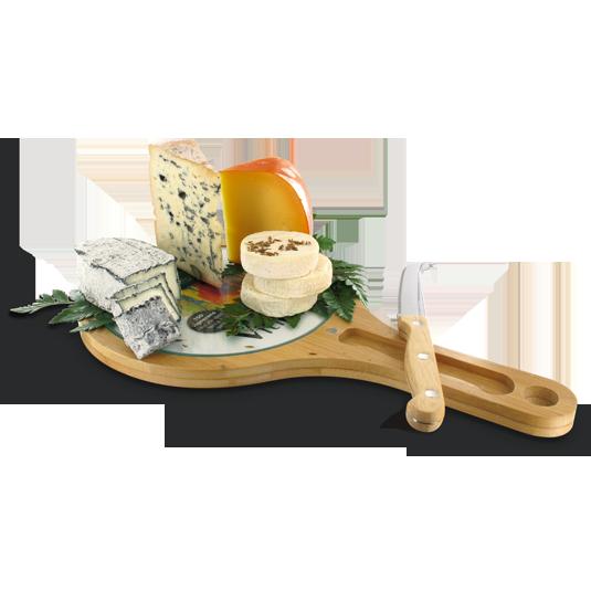 Plateau fromage publicitaire en bambou for Stores de bambou en plein air ikea