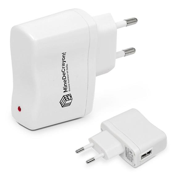 Chargeur USB publicitaire | Chargeur USB personnalisé avec